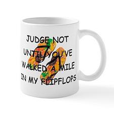 Judge Not Mug