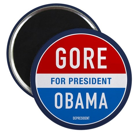 "Gore Obama 2008 2.25"" Magnet (10 pack)"