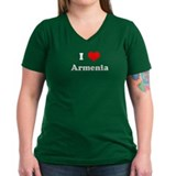 I Love Armenia Shirt