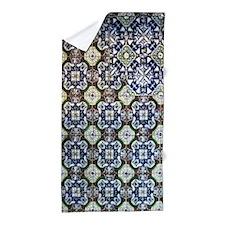 Mexican Mosaic Tile Beach Towel