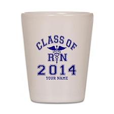 Class Of 2014 RN Shot Glass