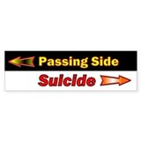 Passing Side Bumper Bumper Sticker