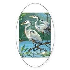 Egrets Decal