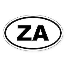 South Africa ZA Decal