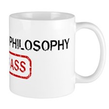 CONTINENTAL PHILOSOPHY kicks  Coffee Mug