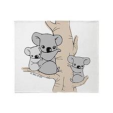 Koala Bears Throw Blanket