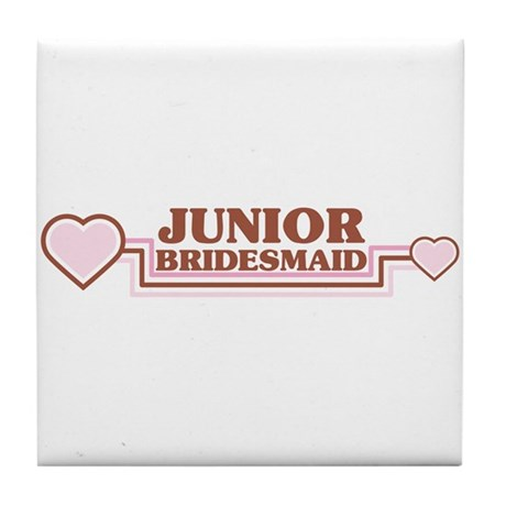 Junior Bridesmaid Tile Coaster