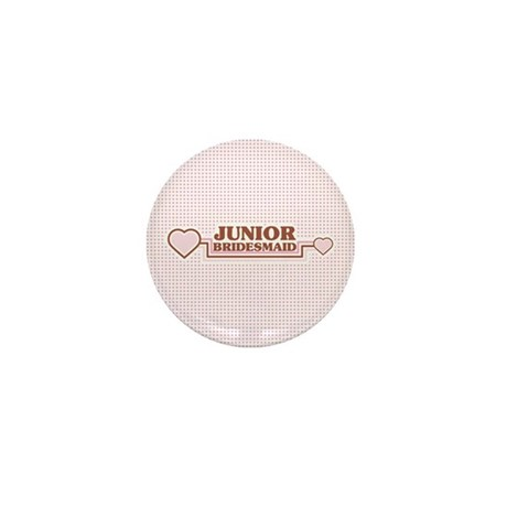Junior Bridesmaid Mini Button