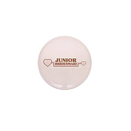 Junior Bridesmaid Mini Button (10 pack)