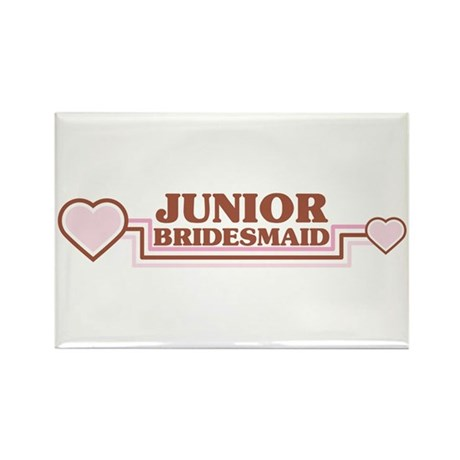 Junior Bridesmaid Rectangle Magnet
