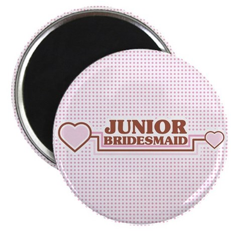 "Junior Bridesmaid 2.25"" Magnet (10 pack)"