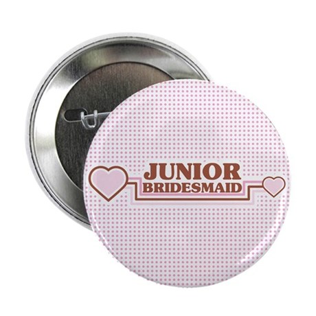 "Junior Bridesmaid 2.25"" Button (100 pack)"