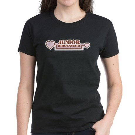 Junior Bridesmaid Women's Dark T-Shirt