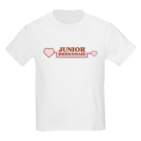 Junior Bridesmaid Kids Light T-Shirt