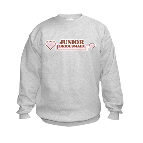 Junior Bridesmaid Kids Sweatshirt
