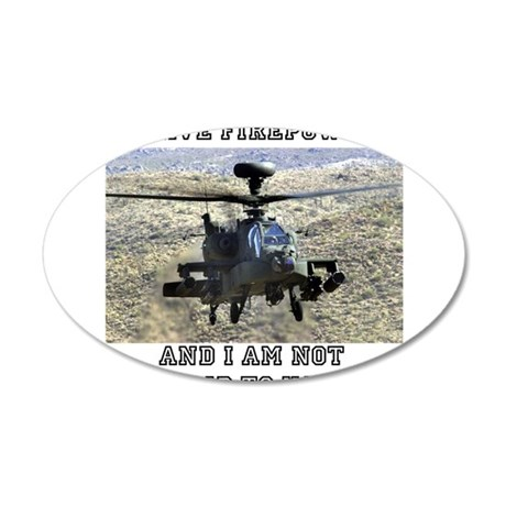 Airpower! 35x21 Oval Wall Decal