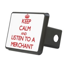 Keep Calm and Listen to a Merchant Hitch Cover