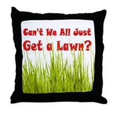 Get a Lawn Throw Pillow