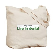 Insuance Is Fun, fun slogan tote bag