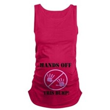 Hands Off Baby Bumb Maternity Tank Top