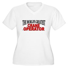 """The World's Greatest Crane Operator"" T-Shirt"