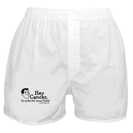 Hey Cancer Boxer Shorts