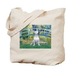 Bridge & Bull Terrier Tote Bag