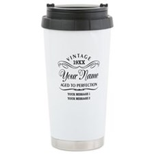 Personalize Funny Birth Travel Mug