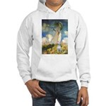 Umbrella & Bull Terrier Hooded Sweatshirt