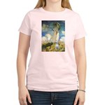 Umbrella & Bull Terrier Women's Light T-Shirt