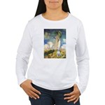 Umbrella & Bull Terrier Women's Long Sleeve T-Shir