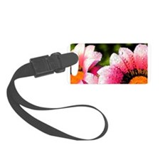 Bold Beautiful Flowers Luggage Tag