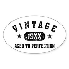 Personalize Vintage Aged to Perfection Decal
