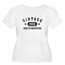 Personalize Vintage Aged to Perfection Plus Size T