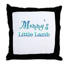Mommys Little Lamb Throw Pillow