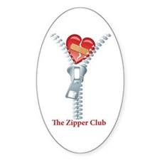The Zipper Club Decal