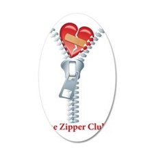The Zipper Club Wall Decal