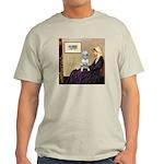 Mom's Bull Terrier (#1) Light T-Shirt