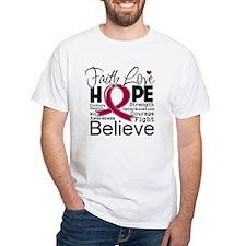 Brain Aneurysm Faith T-Shirt