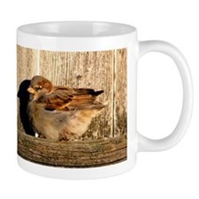 Sleepy Sparrow Mugs