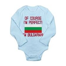 Of Course Im Perfect, Long Sleeve Infant Bodysuit