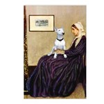 Mom's Bull Terrier (#1) Postcards (Package of 8)