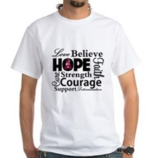 Brain Aneurysm Hope Collage T-Shirt