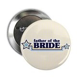 "Father of the Bride 2.25"" Button (100 pack)"