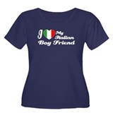 I love my Italian boy friend Women's Plus Size Sco