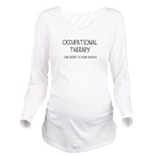 OT SECRET Long Sleeve Maternity T-Shirt