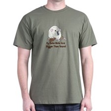 Russian Blue Siamese Nuts T-Shirt