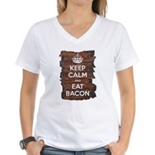 Keep Calm Eat Bacon Shirt