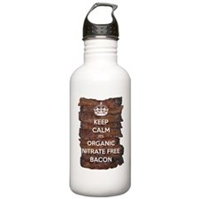 Keep Calm Organic Baco Water Bottle
