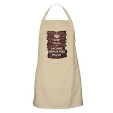 Keep Calm Organic Bacon Apron